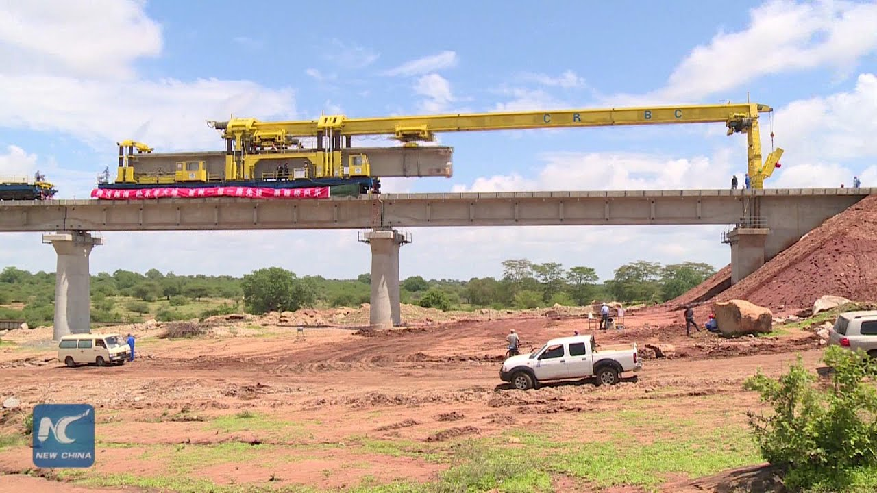 Bridge Abutment along Mombasa Line. The same will be done for both ends of the Park Bridge Crossing