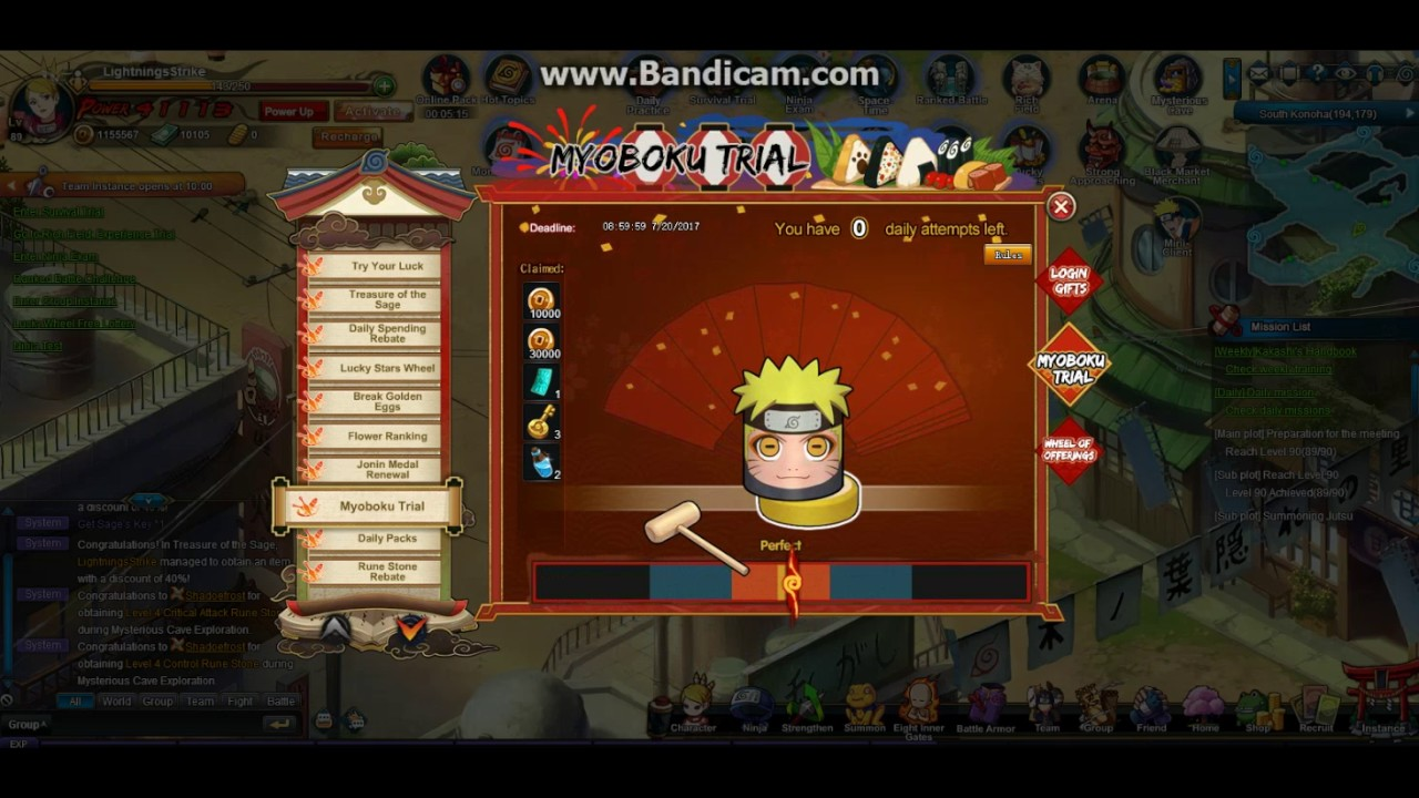 Naruto Online  Na Events