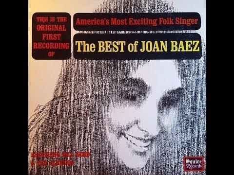 Joan Baez - The Best Of Joan Baez (1959)  [Full Album/Vinyl]
