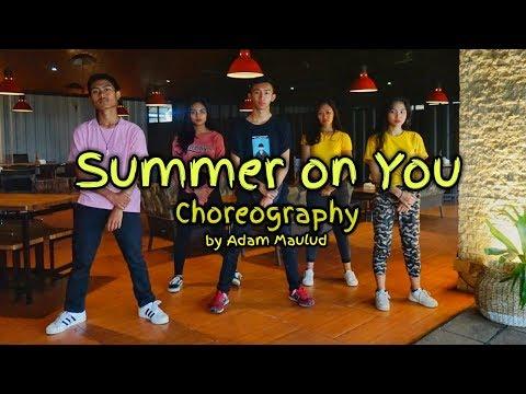 PRETTYMUCH - Summer on You Dance Choreography | Adam Maulud