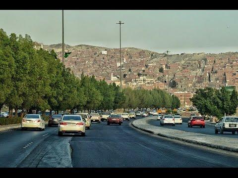 جولة بالسيارة في مكة المكرمة الطريق الدائري الثالث Tour by car in Mecca Third Ring Road