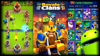 EL HIJO PERDIDO DE CLASH ROYALE Y MINECRAFT - Royale Clans  Clash Of Wars APK Y Gameplay Android