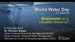 World Water Day: Wastewater or a Valuable Resource?