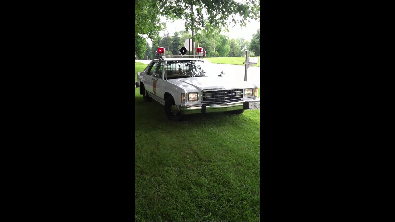 1982 Ford Ltd Lincoln Police Car 1 Unit 39 Youtube