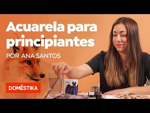 Técnicas de acuarela para principiantes - Un curso online de Ana Santos