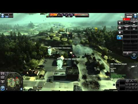 World In Conflict - 8v8 Multiplayer (Full Match) - Air Support Role - 720p