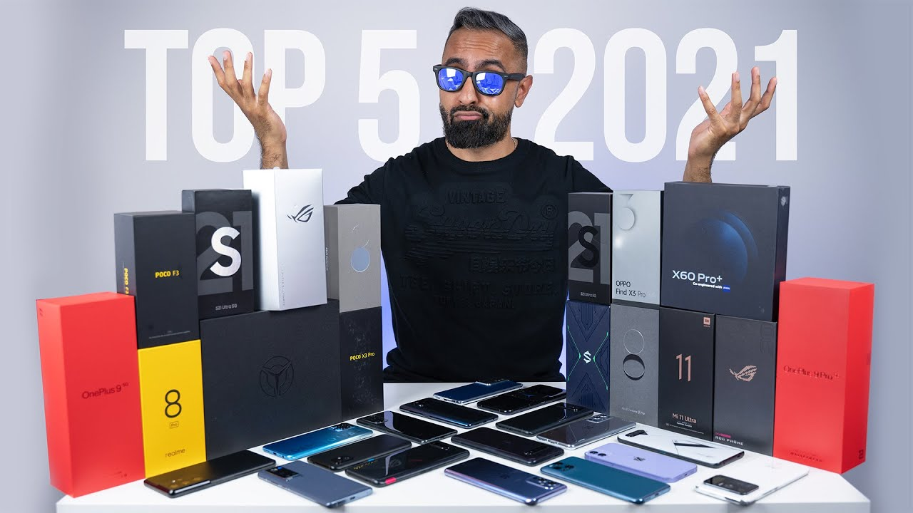 Download Top 5 BEST Smartphones of 2021.... So Far