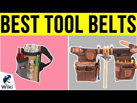 10 Best Tool Belts 2019