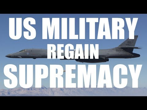 What the US Must Do to Protect It's Military Supremacy