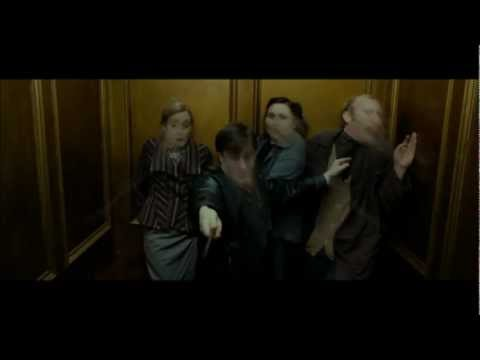 Harry Potter and the Deathly Hallows part 1 - Ministry of Magic escape scene (HD)