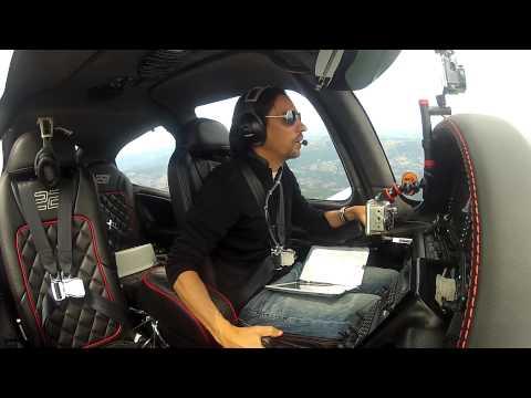 Cirrus - Multi-Camera - Flight to Truckee Part 02