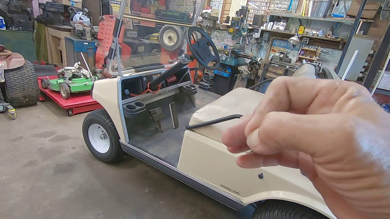 [ZTBE_9966]  Golf Cart Blows Fuses. Can We Fix It? - YouTube | 1986 Club Car Fuse Box |  | YouTube