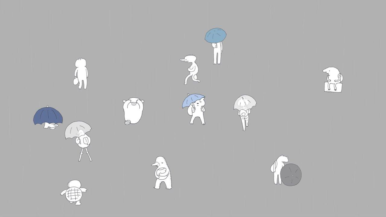 にわか雨 / rain
