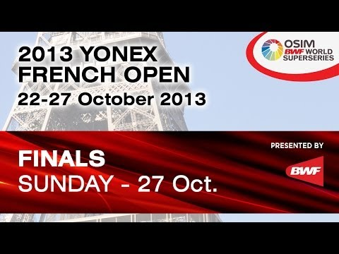 男单决赛 - 田儿贤一 vs 约根森 - 2013法国公开赛
