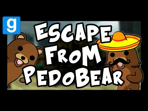 ESCAPE FROM PEDOBEAR | How Many Are There!?! | Gmod