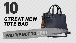 Burberry Tote Bags, Top 10 Collection // New & Popular 2017