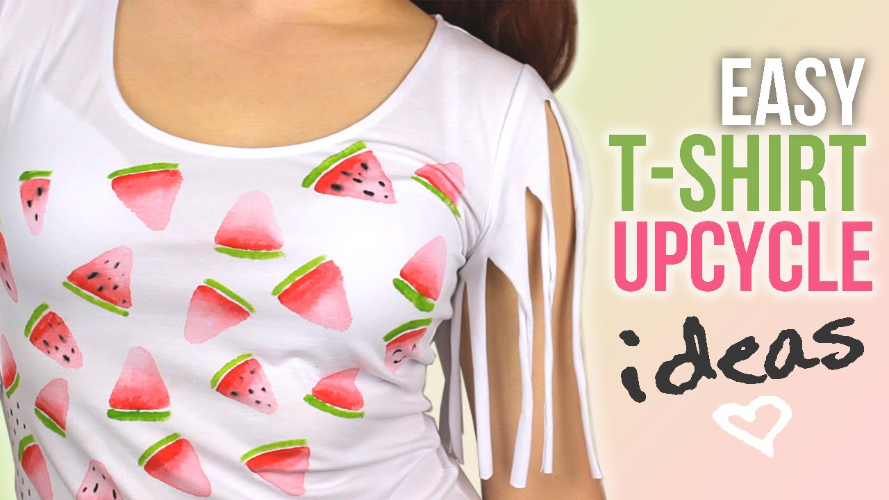 Diy easy t shirt upcycle ideas that are perfect for summer diy easy t shirt upcycle ideas that are perfect for summer cutify diy 2 solutioingenieria Images