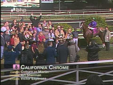 California Chrome Romps In King Glorious