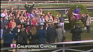California Chrome Romps In King Glorious