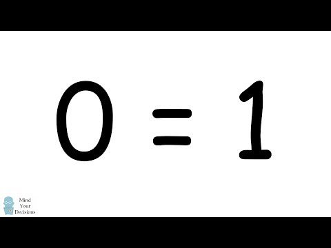 """""""PROVE"""" 0 = 1 Using Integration - Lesson For Students. Can YOU Find The Mistake?"""