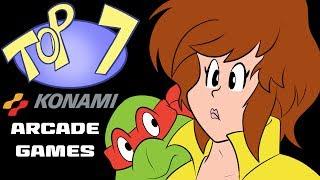 Top 7 Konami Arcade Games!