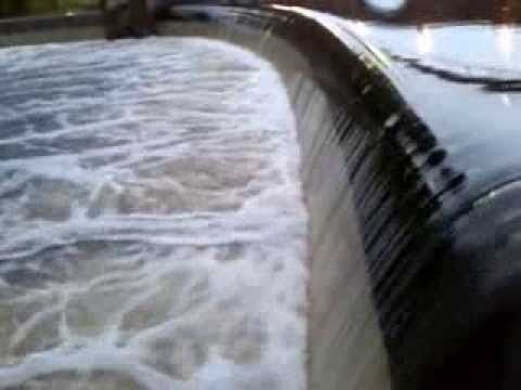 15/9/13 River Strule Autumn Salmon Run/leap