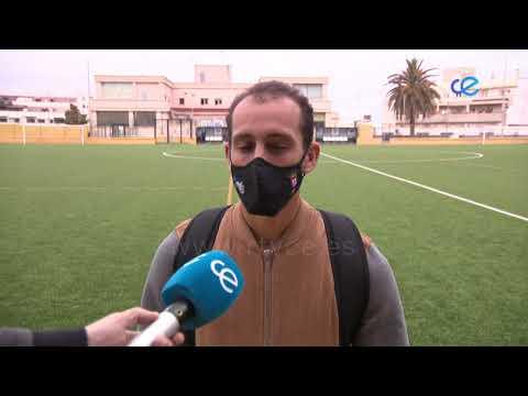 """Ismael César espera """"un partido muy bonito"""" ante su exequipo, el Puente Genil"""