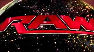 WWE Raw New Theme Song 2012 Tonight is The Night