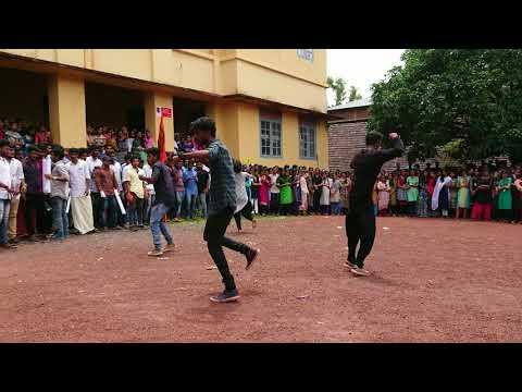 Abvp SN Clg Kannur flashmob