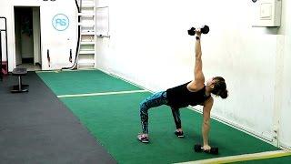 19 Hybrid Dumbbell Exercises
