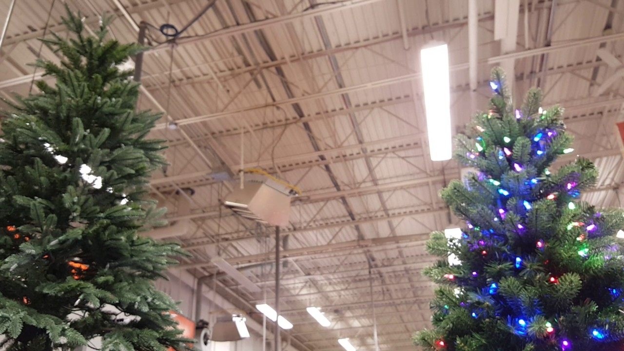 artificial christmas tree adjusts from 7 to 10 feet