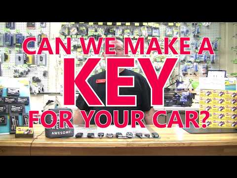 Can We Make A Key For Your Car?