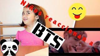 ¡NIÑOS REACCIONAN A BTS POR PRIMERA VEZ! / Kids React to BTS!