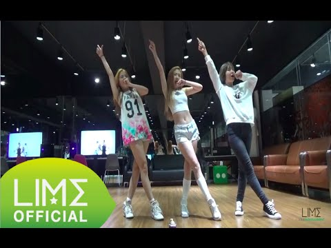 LIME - PART OF ME Dance Practice (Freestyle Version)