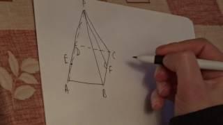 Лекция 56. Задача по стереометрии.