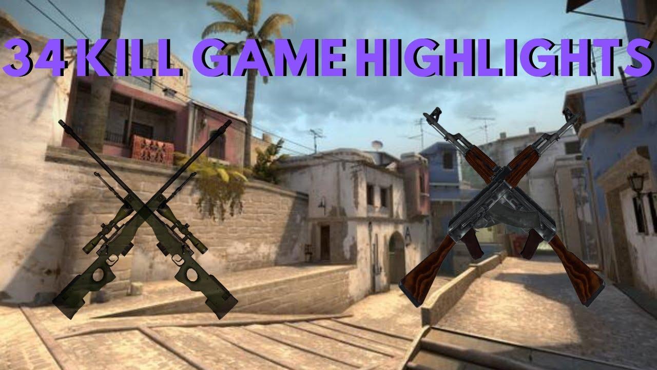 CS:GO 34 KILL COMPETITIVE GAME HIGHLIGHT    FT. KHAKI, TRICKSTERZ, ALLERGICTOKAT & MOBINMONTANA