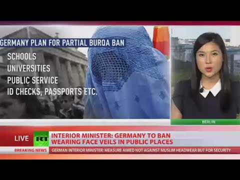 Germany to ban wearing face veils in public places - Interior minister