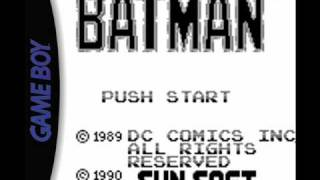 Batman Music (Game Boy) - Title Screen