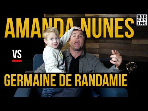 Is anyone excited for Amanda Nunes vs Germaine de Randamie?