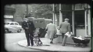 Liverpool City Police Dog Section - 1958