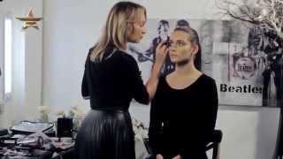 Стильный макияж на День Св. Валентина от Ольги Романовой