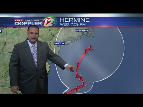 The Latest on Hermine: Tropical Storm Warnings for Southern RI