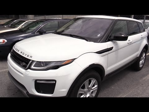 2016 Range Rover Evoque Se Mini Review