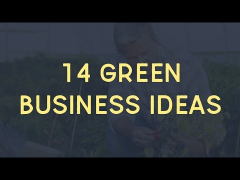 14 Green Business Ideas For Startup Entrepreneurs