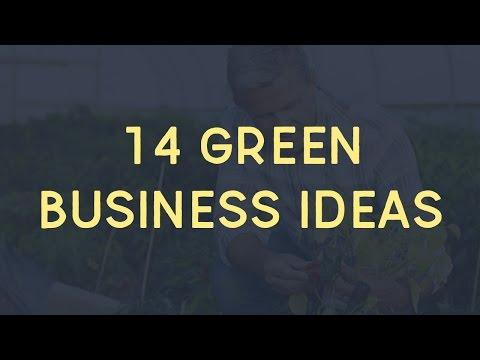 14 Green Business Ideas For Startup Entrepreneurs