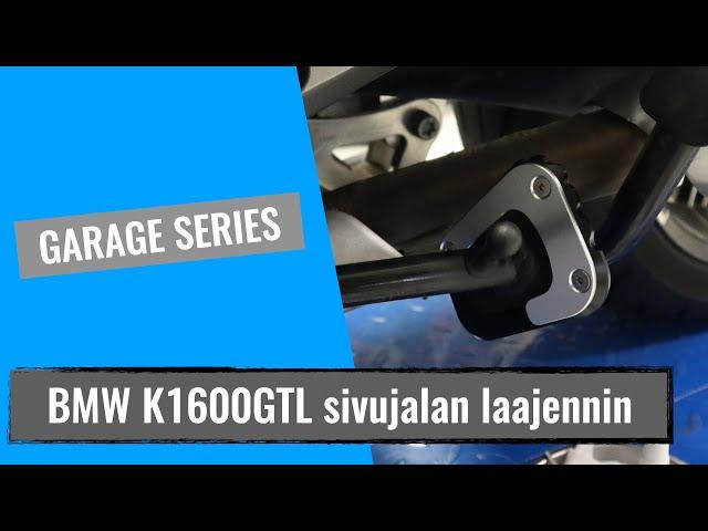 BMW K 1600 GTL sivujalan laajennin