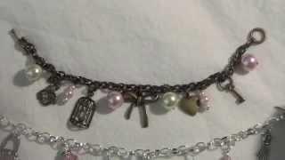 Simple Charms Bracelets
