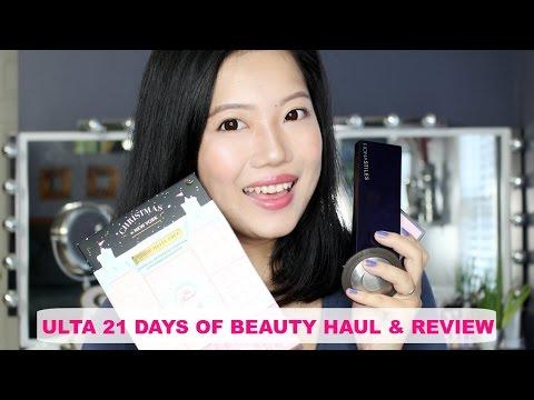 ULTA 21 DAYS OF BEAUTY HAUL & REVIEW