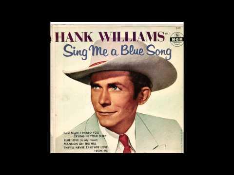 hank williams (vinyl rip)
