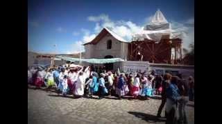 Carnaval de Socoroma 2013 - Entrada a la Plaza.